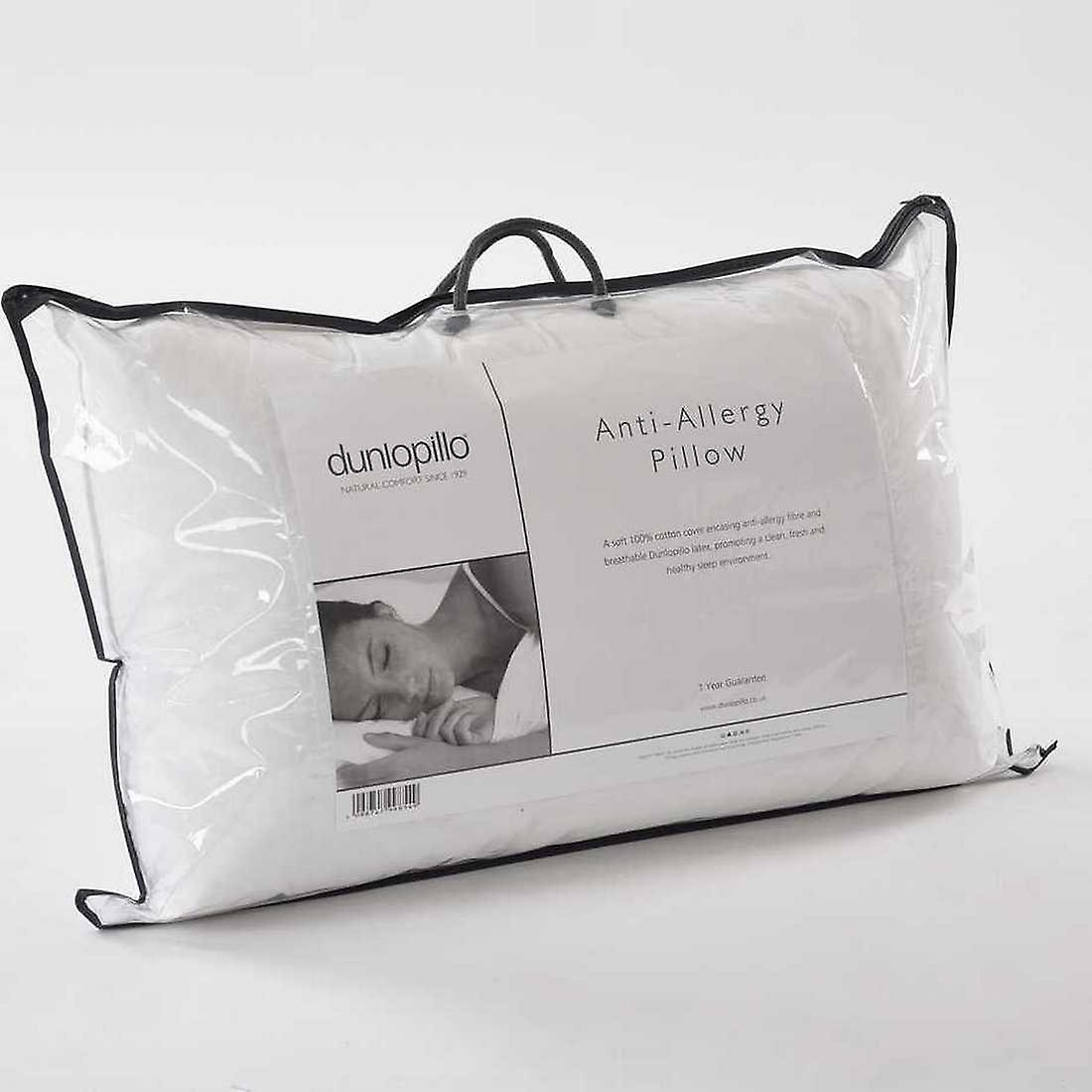 Dunlopillo Anti Allergy Pillow with Breathable Latex 1 Year Guarantee
