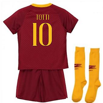 2018-2019 como Roma casa Nike Little Boys Mini Kit (Totti 10)