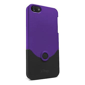 5 Pack -iFrogz Luxe Case for Apple iPhone 5 - Purple
