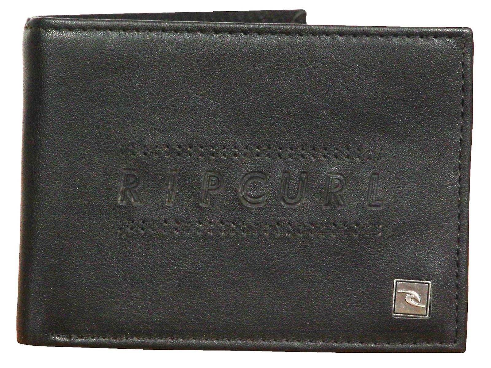 Rip Curl Wallet With CC, Note and Coin Sections ~ Classic All Day black