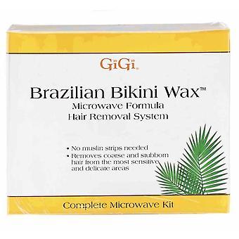 GiGi Brazilian Bikini Wax Mikrowelle Kit