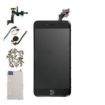 الاشياء المعتمدة® اي فون 6 زائد قبل تجميعها الشاشة (شاشة تعمل باللمس + LCD + أجزاء) AA + جودة - أسود