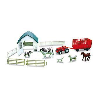 Land livet mejerilantbruk lekset