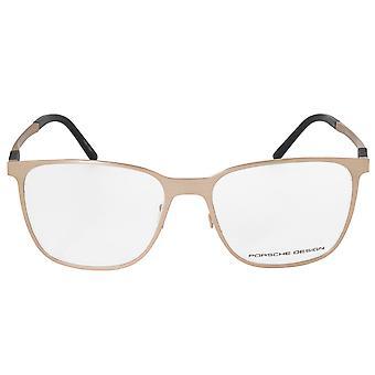 ポルシェデザイン P8275 B スクエア |マットゴールド |眼鏡フレーム