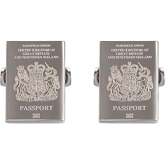Simon Carter Passport To London Cufflinks - Silver