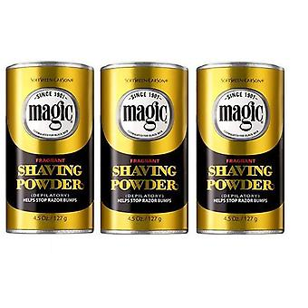 Magic Shaving Powder Fragrant, Gold 127g (3-PACK)