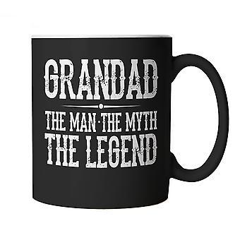 Bedstefar, Manden, Myten, Legenden, Funny Mug - Gave, Fædre dag, fødselsdag