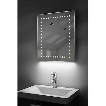 Afeitadora de ambiente LED espejo con Demister Pad y Sensor K39st