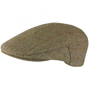 Jack Murphy Womens/Ladies Derby British Assorted Tweed Smart Finish Flat Cap