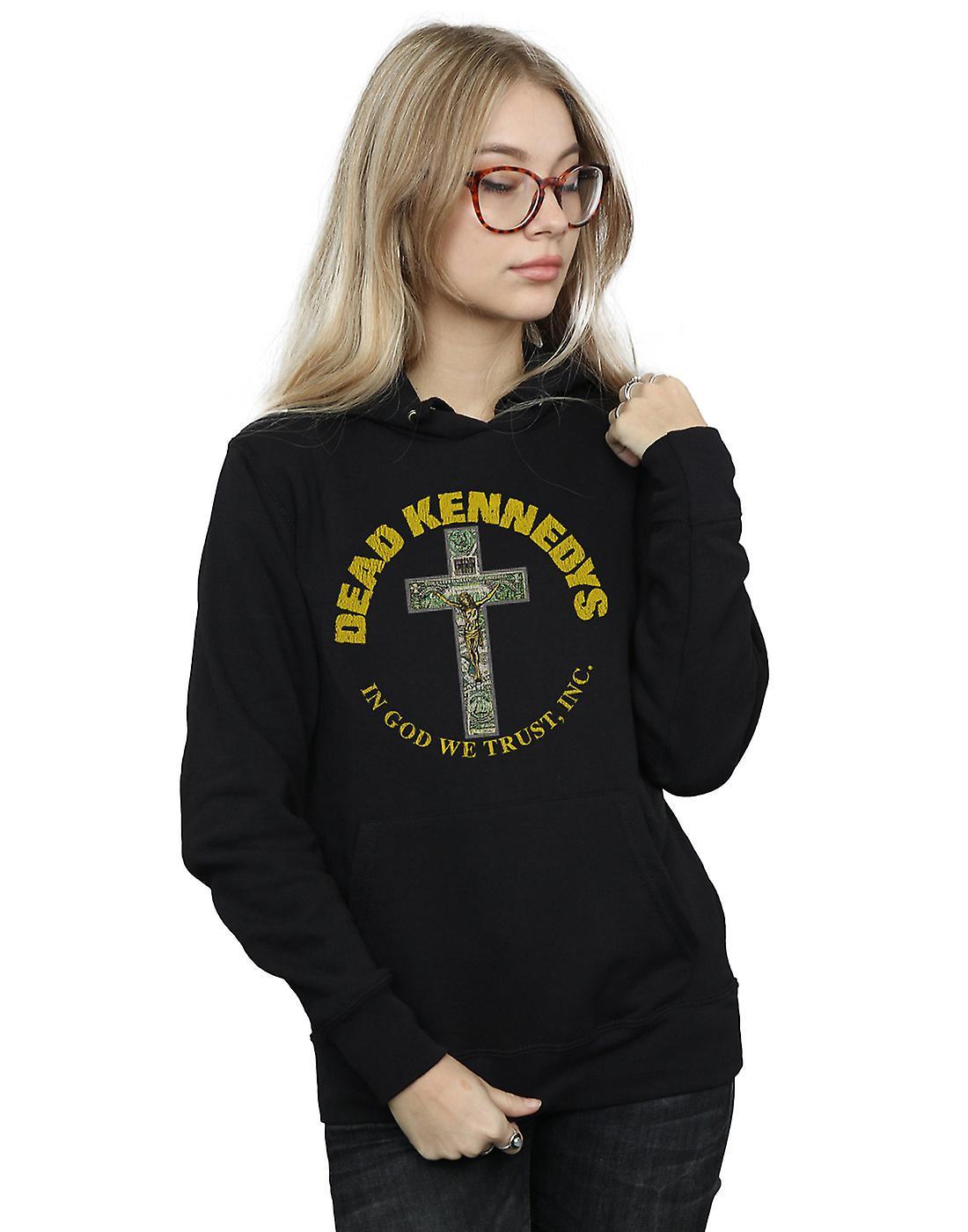 Dead Kennedys Women's In God We Trust Hoodie