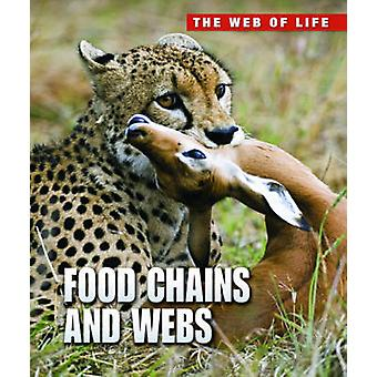 Cadeias alimentares e teias por Andrew Solway - livro 9781406232530