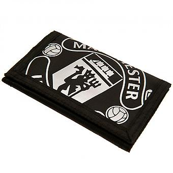 Manchester United FC Touch Fastening Nylon Wallet