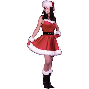 Deslumbrante traje de Santa adulto