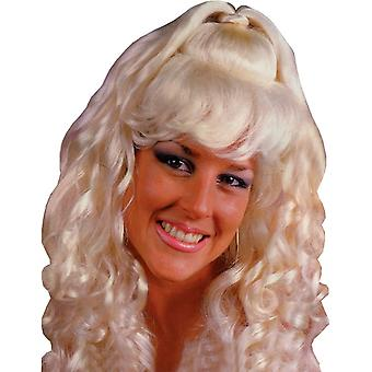 Spicy Glamour Blonde Wig For Adults - 17720