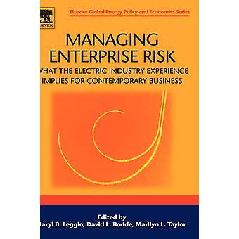 Beheer van ondernemingsrisico's wat de elektrische industrieervaring impliceert voor de hedendaagse Business door Leggo & Karyl B