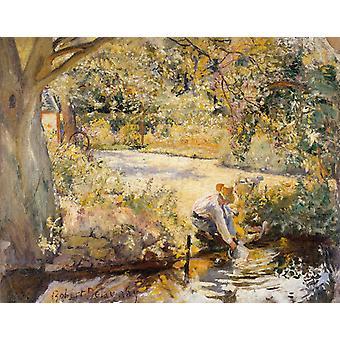 Am Fluss, Robert Delaunay, 50x40cm