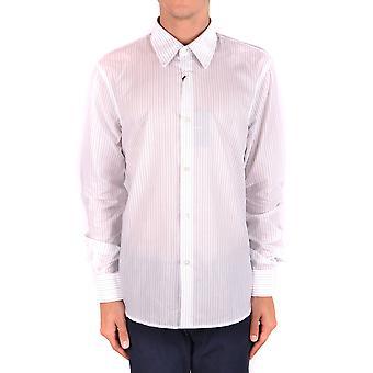 Costume National Ezbc066051 Men's White Cotton Shirt
