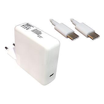 Apple MacBook Pro 15 pulgadas táctil portátil compatibles de 2016 finales de energía AC adaptador cargador con construido en el enchufe de la UE