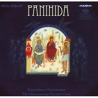 Sidoroff / Chrysostomos Chamber Choir - Panihida [SACD] USA import