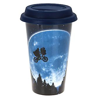 E.T. All Over Print Ceramic Travel Mug