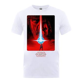 Άνδρες ' s Star Wars η τελευταία αφίσα Τζεντάι T-shirt