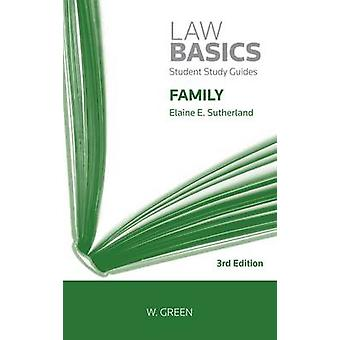 Family Law Basics by Elaine E. Sutherland - 9780414018808 Book