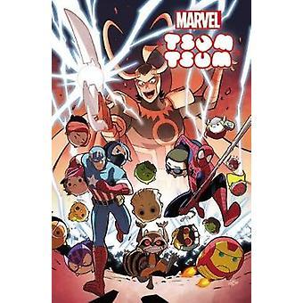 Marvel Tsum Tsum by Jacob Chabot - David Baldeon - 9781302902643 Book