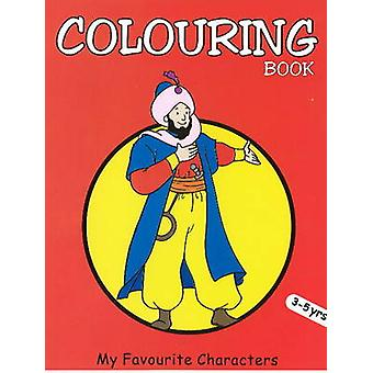 My Favourite Characters Coloring Book by Pegasus - 9788131904053 Book