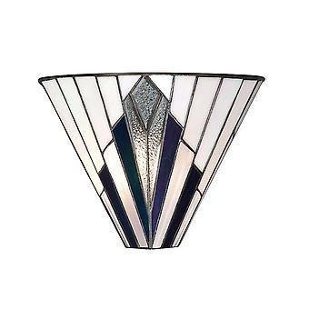 Luz de parede estilo Tiffany Astoria - interiores 1900 63940