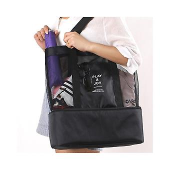 Large supple bag with Extra cooling space Black