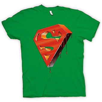 Mens T-shirt - 3D Superman Logo