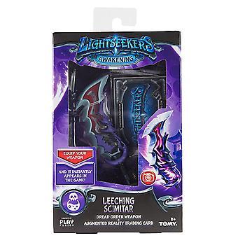Lightseekers Awakening Leeching Scimitar Dread Order Weapon & Trading Card