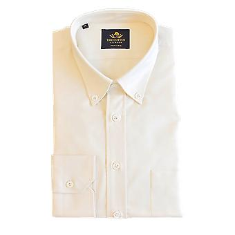 Thomas mason oxford light yellow shirt