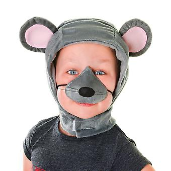 Bristol Novelty Childrens/Kids Mouse Hood And Nose Accessories Set