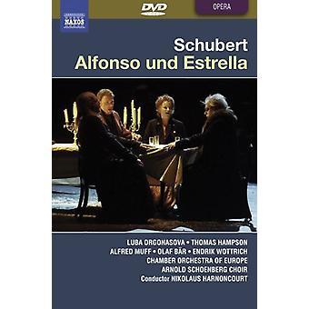F el. Schubert - importación de Estados Unidos de Alfonso Und Estrella [DVD]