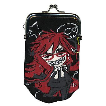 Coin Purse - Black Butler - New SD Grell Toys Licensed ge20006