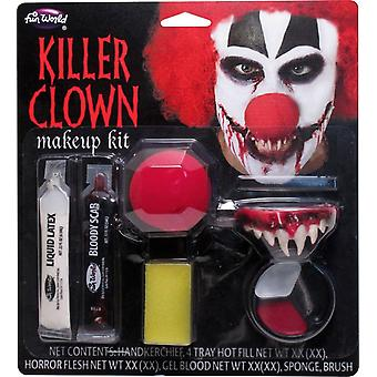 Killer Clown Make Up Kit