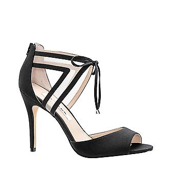 Nina Womens Caleya FP Open Toe Ankle Strap Classic Pumps