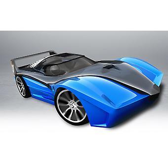 Hot Wheels Hyper Racer L & S Spin King