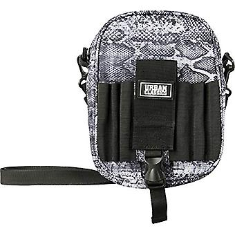 Urban Classics Printed Festival Bag Shoulder Bag 21 cm Snake (Multicolor) - TB2544