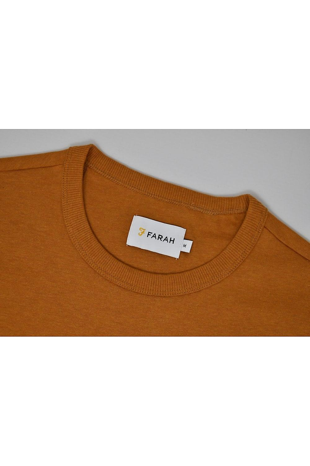 Farah Dennis Short-Sleeved T-Shirt (Gold Marl)