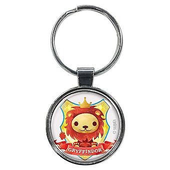 Harry Potter Cute Gryffindor Keychain