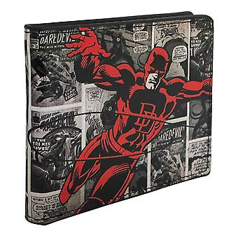 Daredevil Comic Panels Men's Bi-Fold Wallet