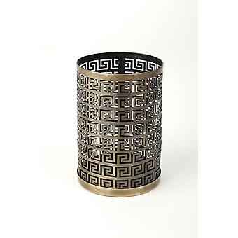 Lantern table Antique Gold H14 cm