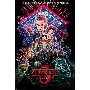 Cartel de Stranger Things 3 Promo