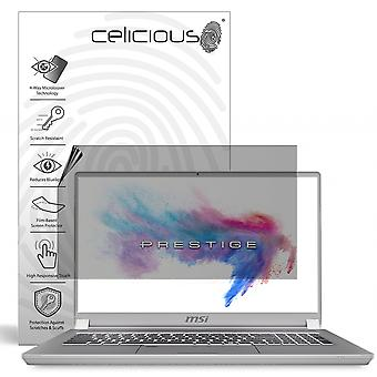 Celicious Privacy Plus 4-Way Anti-Spy Filter Screen Protector Film Compatible with MSI Prestige P75 Creator