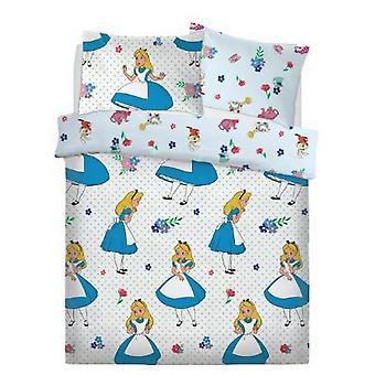 Alice In Wonderland Girls Reversible Duvet Set