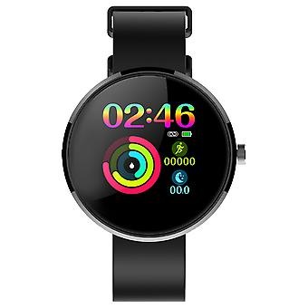 D8 Smart Watch Aktivität Tracking IP68 Wasserdicht 2m- Lemonda, Schwarz