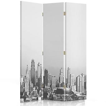 Raumteiler, 3 Paneele, Doppelseitig, drehbar 360 ?? ° Leinwand, Metropolitan