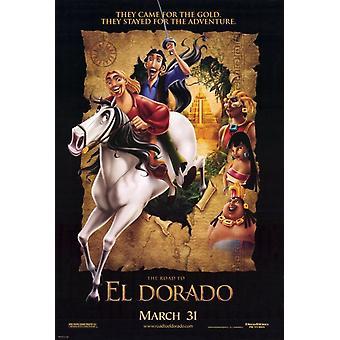 La strada per Eldorado (2000) Poster originale del cinema